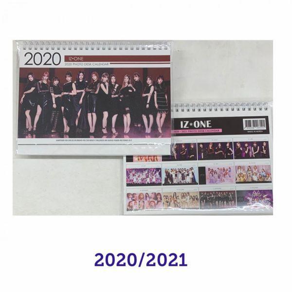 IZ*ONE アイズワン 2020 2021 卓上 カレンダー  ...