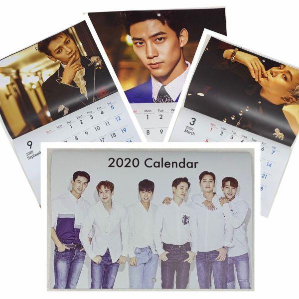 2PM 2020 壁掛け カレンダー  韓流 グッズ fx094-...