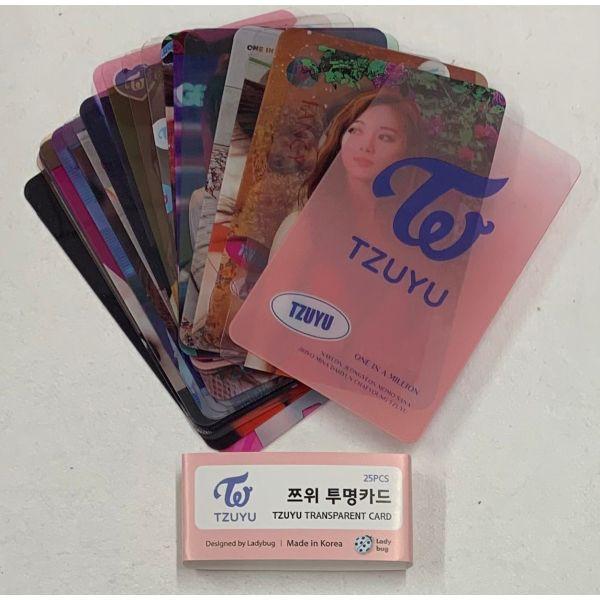 【送料無料】  TWICE ツウィ 透明 カードセッ...