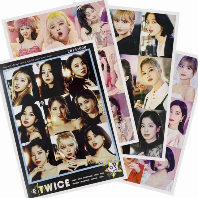 【送料無料】  TWICE ポスターセット A4 10枚...