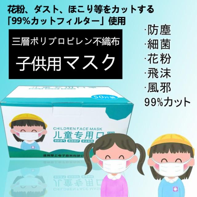 【2箱で送料無料】【即日出荷】マスク 50枚 使い...