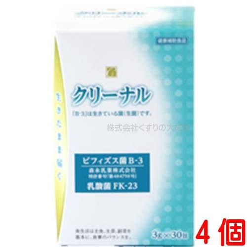クリーナル 3g 30袋 4個 乳酸菌含有加工食品