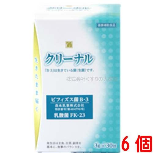 クリーナル 3g 30袋 6個 乳酸菌含有加工食品