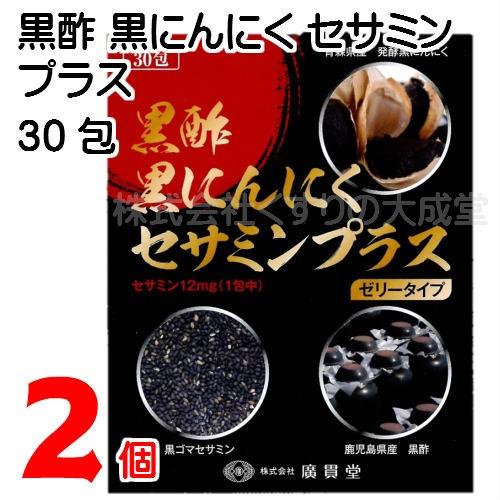 廣貫堂 黒酢黒にんにくセサミンプラス 15g30包 2...