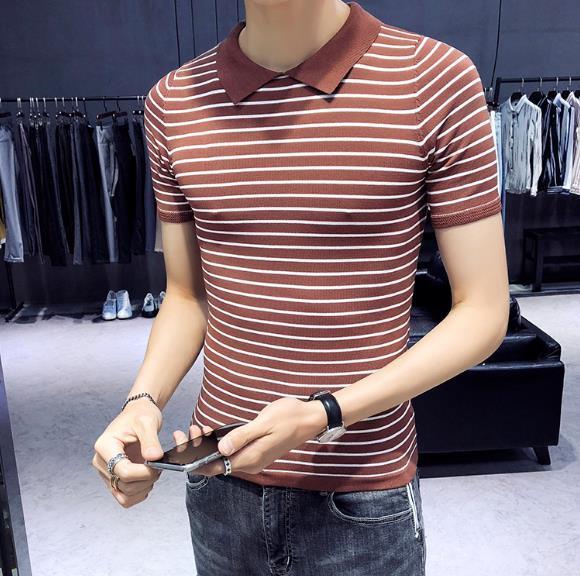 夏新作紳士/メンズトップス半袖Tシャツ/ カジュ...