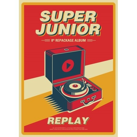【一般版】【全曲和訳】SUPER JUNIOR 8TH Repacka...