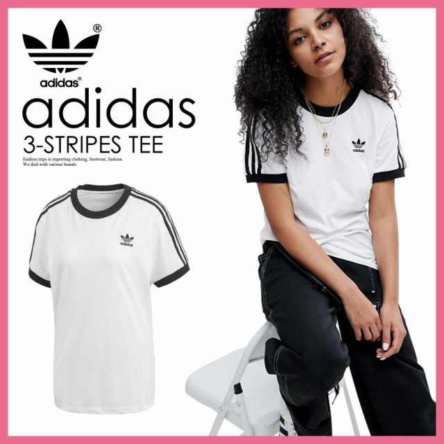 adidas (アディダス) 3-STRIPES TEE (スリースト...