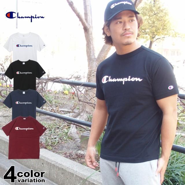 チャンピオン Tシャツ Champion BASIC T-SHIRT メ...