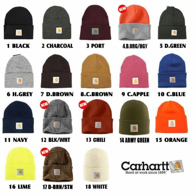 carhartt (カーハート) ニットキャップ ニット帽 ...