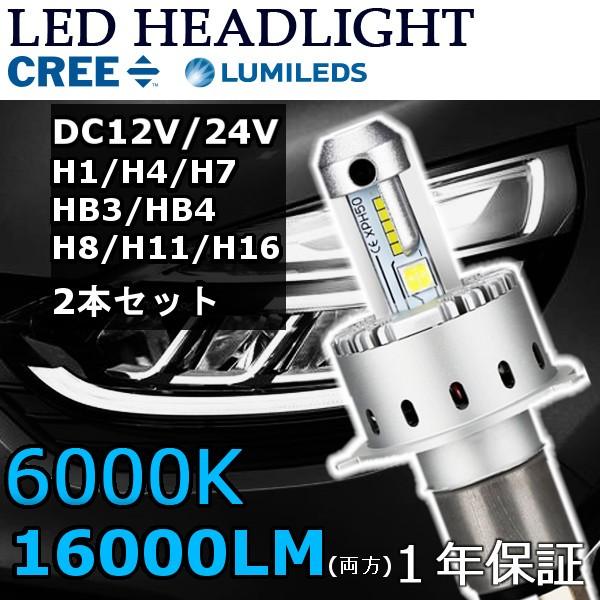 LEDヘッドライトH1/H3/H4/H7/H8/H11/H16/HB3/HB4 ...