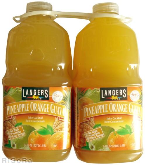 LANGERS ランガース ジュース パイナップル ...