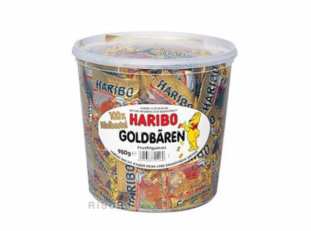 ハリボー HARIBO ゴールデンベアー グミ 980g ...