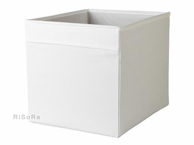 DRONA ボックス 白 イケア IKEA 収納 ボッ...