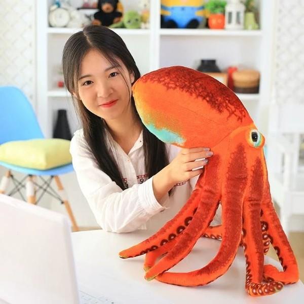 ぬいぐるみクッション タコ リアル 章魚60cm 抱き...