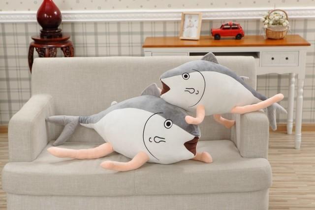 ぬいぐるみ魚 面白い おもちゃ寝るときに抱き枕8...