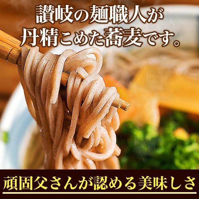 送料無料 讃岐生そば 6食(180g×3) ポイント消化 ...