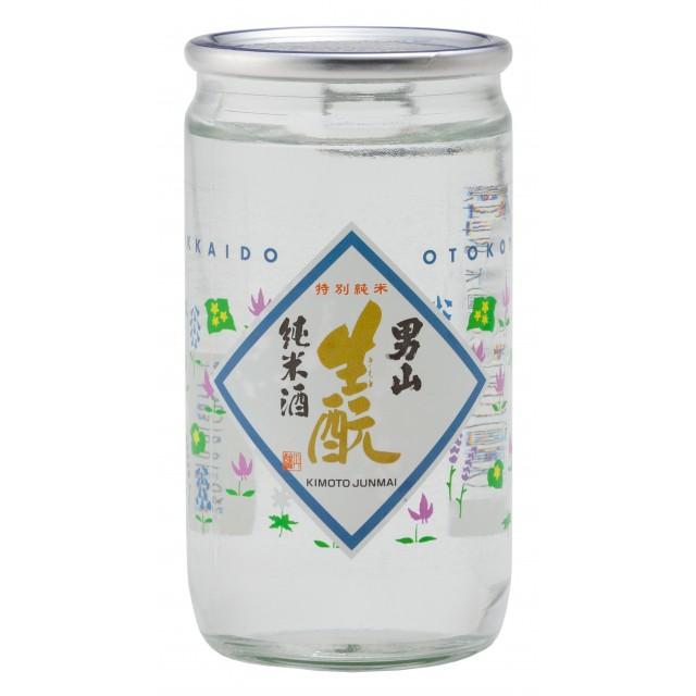 清酒 男山 生もと純米酒 カップ 180ml 日本酒...