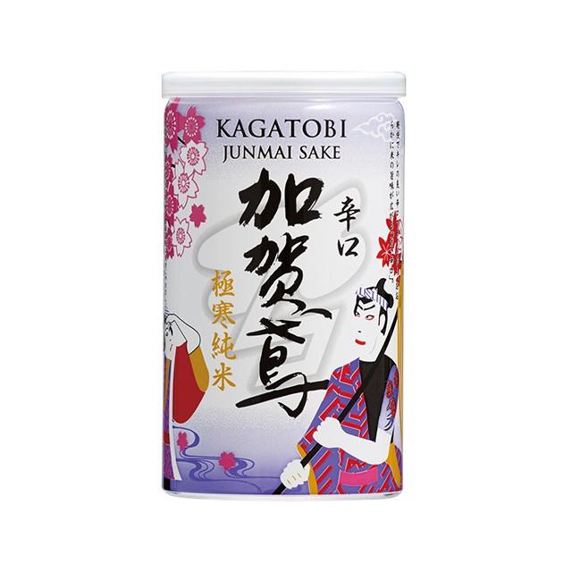 加賀鳶 極寒純米辛口 180ml アルミ缶