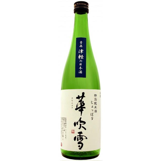 【送料無料】特別純米酒じょっぱり華吹雪720ml