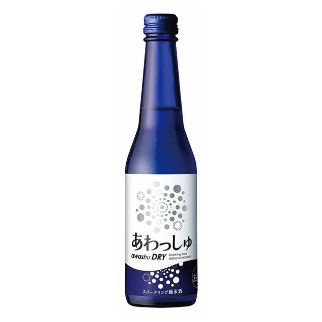 越の誉 発泡性純米酒 あわっしゅDRY 320ml