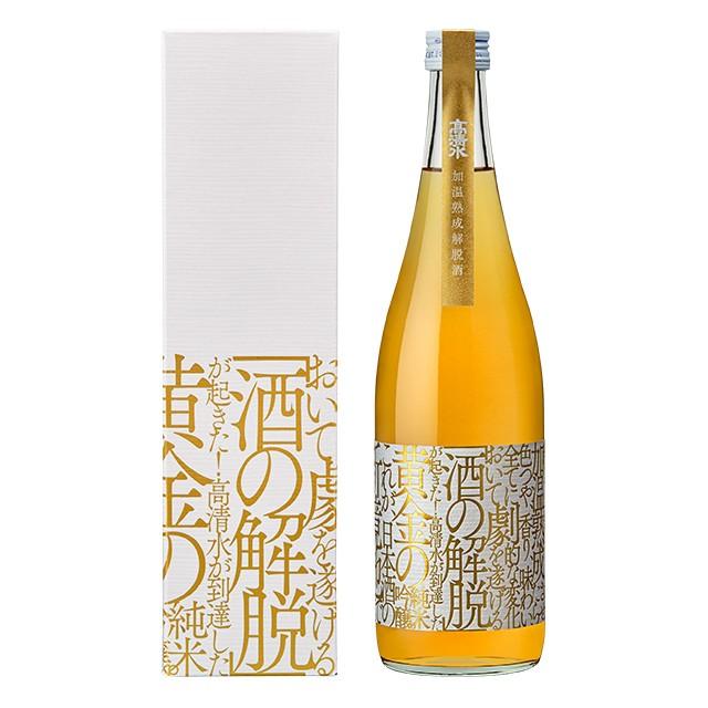 加温熟成解脱酒 720ml