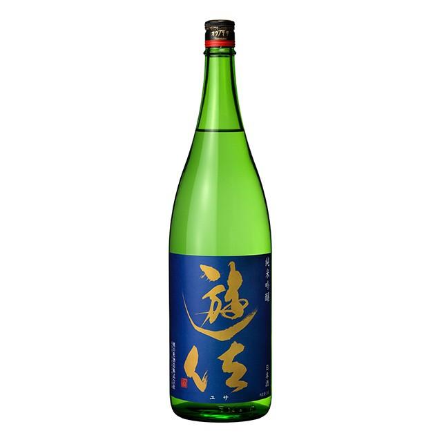 清酒 遊佐 純米吟醸 1.8L