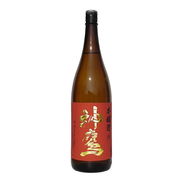 清酒 神鷹 本醸造 赤 1.8L