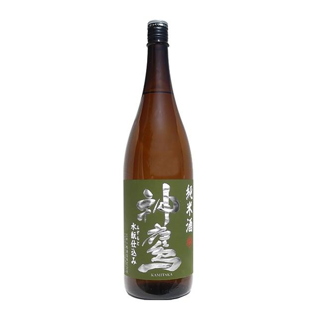 清酒 神鷹 純米水もと仕込み 1800ml