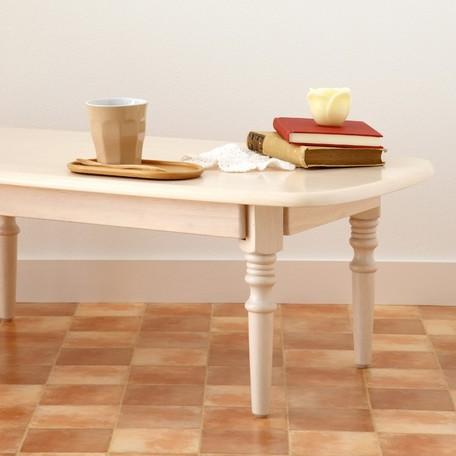【天然木 折りたたみテーブル】