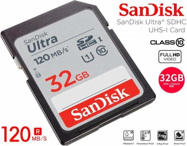 32GB SDHCカード SanDisk サンディスク Ultra SD...