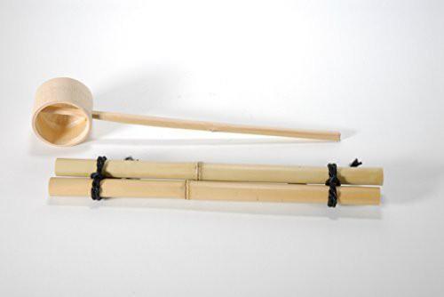 つくばい用竹セット(40cm) (信楽焼・陶器・つ...
