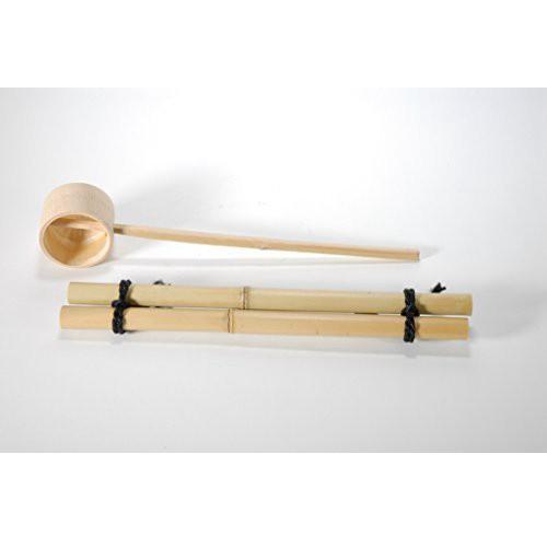 つくばい用竹セット(30cm) (信楽焼・陶器・つ...
