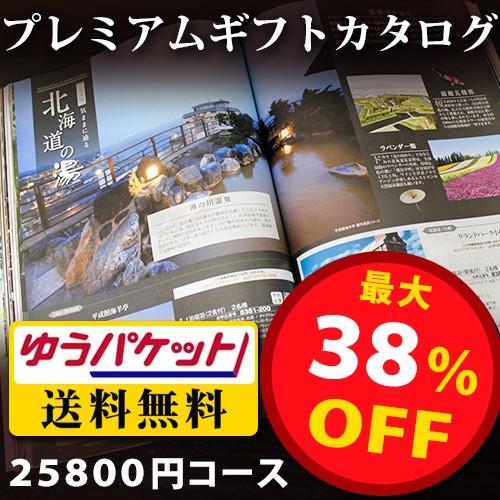 送料無料 メール便 プレミアムギフトカタログ 25...