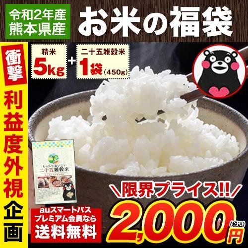 米 令和2年 福袋 お米 お徳用 9品種からどれか1品...