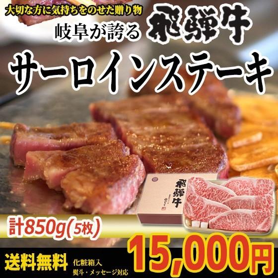 ぽっきり【送料無料】飛騨牛サーロインステーキ計...