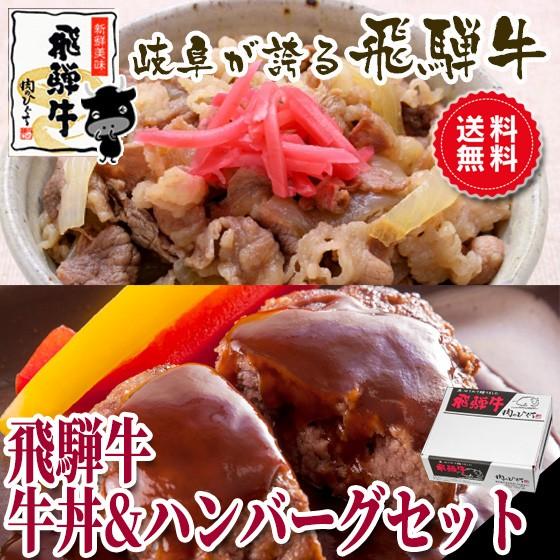 父の日 ギフト 【送料無料】飛騨牛 牛丼 & 飛騨...