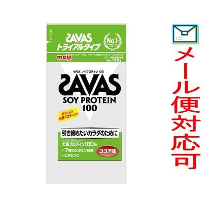 【メール便選択可】SAVAS(ザバス) ソイプロテイン...