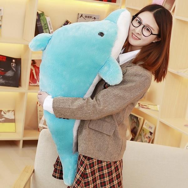 イルカのぬいぐるみ 抱き枕 ふかふか クッション...