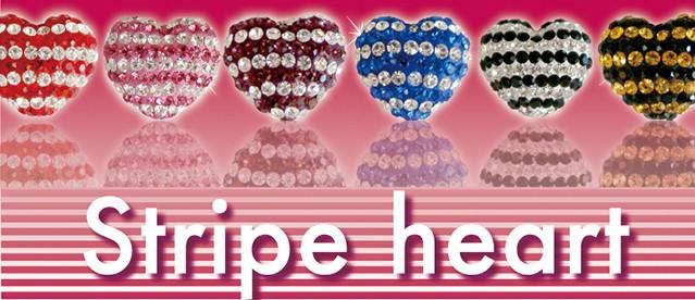 【送料無料】 stripe heart スワロ ストライプハ...