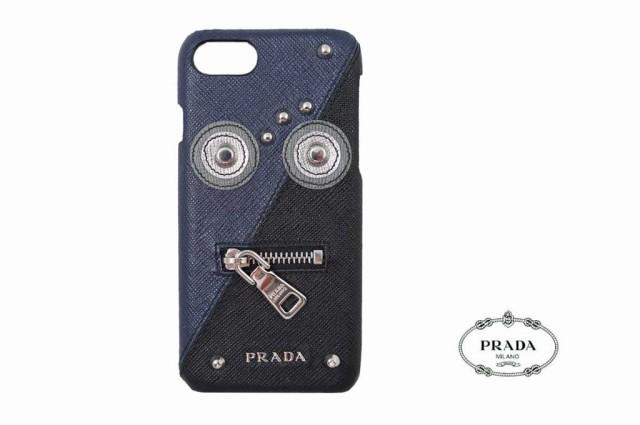 E407 PRADA プラダ SAFFIANO ROBOT iphone ケース 7 8用 イタリア製 2ZH035 BALTICO.doc
