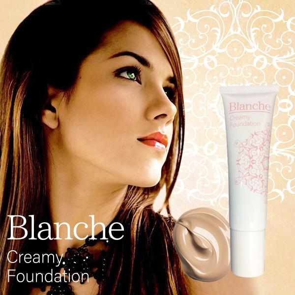 送料無料Blanche Creamy Foundation ブランシェ ...