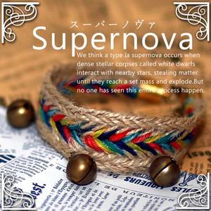 Supernova スーパーノヴァ/開運ブレスレット 金...