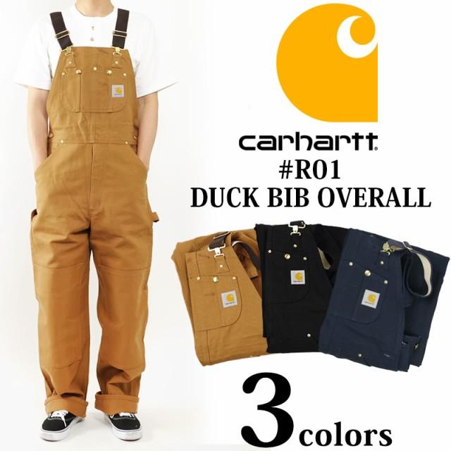 カーハート Carhartt R01 ダック ビブ オーバーオ...