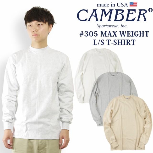 キャンバー CAMBER 305 マックスウェイト 長袖 ク...