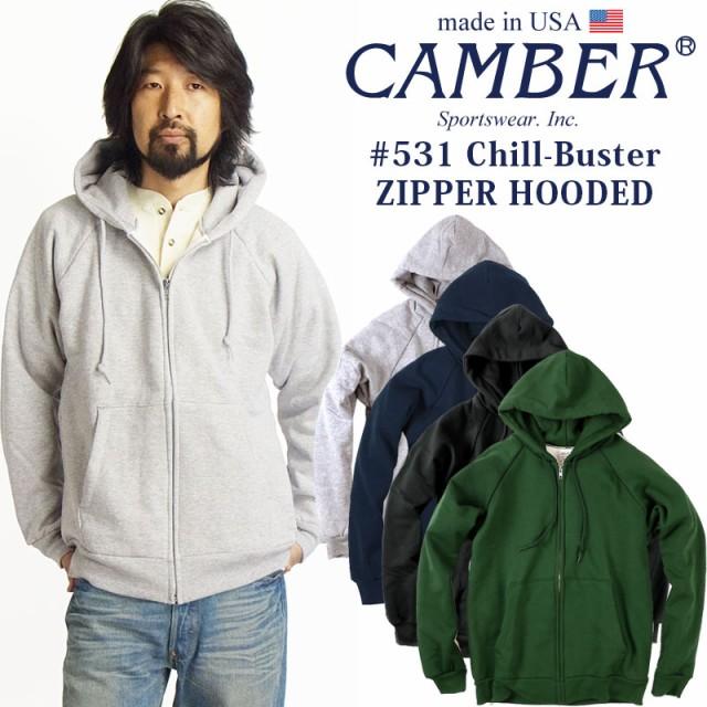 キャンバー CAMBER 531 チルバスター ジップフー...