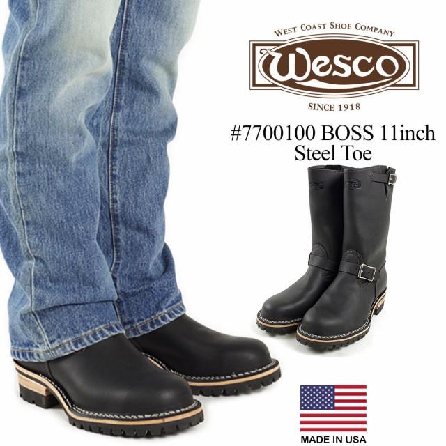 ウェスコ Wesco #7700100 エンジニアブーツ ボス 11