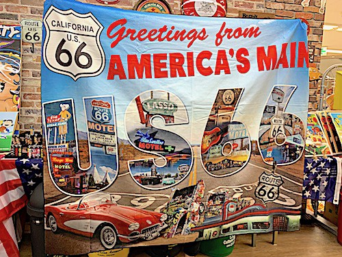 ROUTE66 アメリカン雑貨 SUMMER BLANKET BEACH TO...