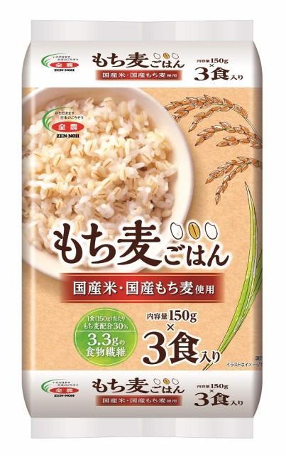 全農 国産米・国産もち麦使用 もち麦ごはん 150g...