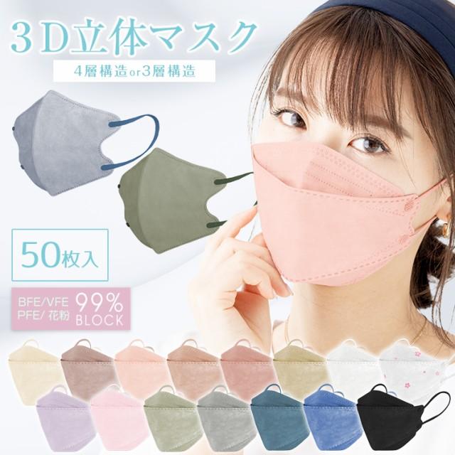 【1000円 ぽっきり 送料無料】マスク 50枚入り 使...