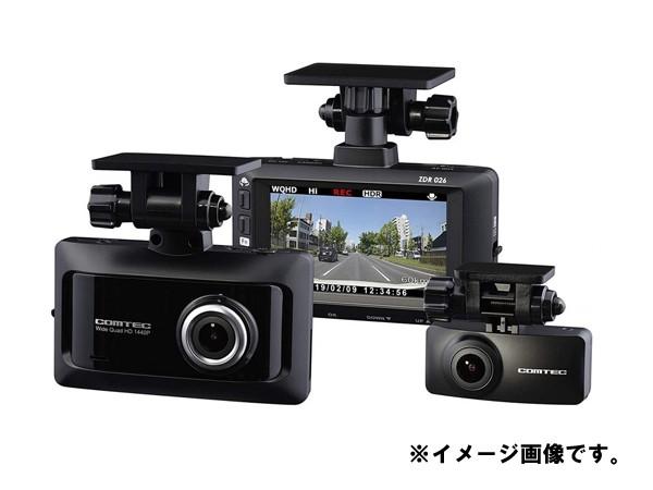 コムテック 前後2カメラ ドライブレコーダー 19年...